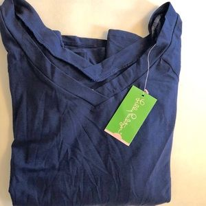 Lily Pulitzer NWT navy top